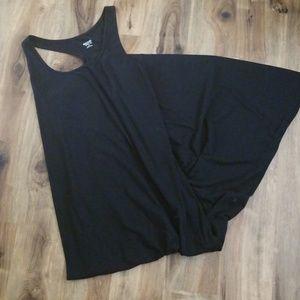 Long black basic dress target